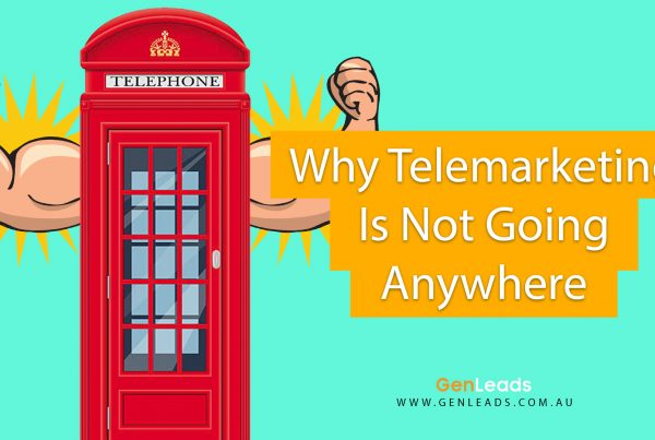 Why Telemarketing Is Not Going Anywhere